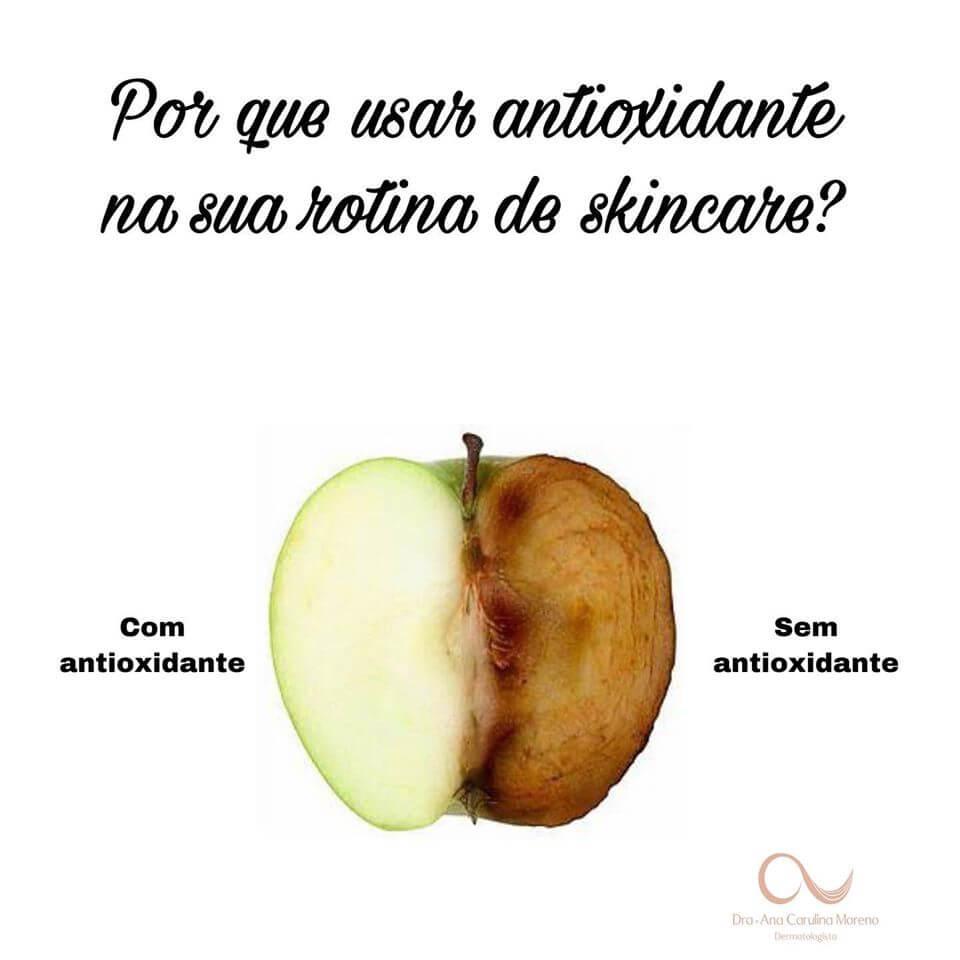skincare com antioxidante