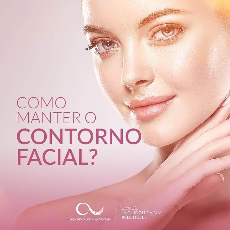Botox contorno facial